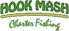 Hook Mash Charter Fishing 2018 Logo